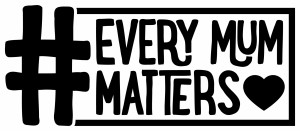 Every Mum Matters Logo - Black - Print Resolution